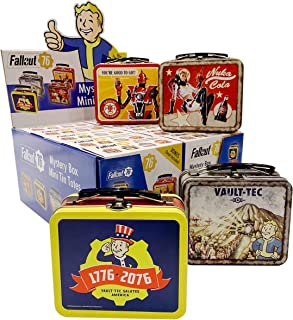 FanWraps Fallout 76 Mini Mystery Tin Tote - Tricentennial/Nuka Cola/Red Rocket/Vault-Tec, Multicolor