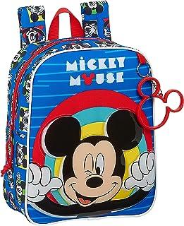 Mochila Infantil de Mickey Mouse Me Time, 220x100x270mm