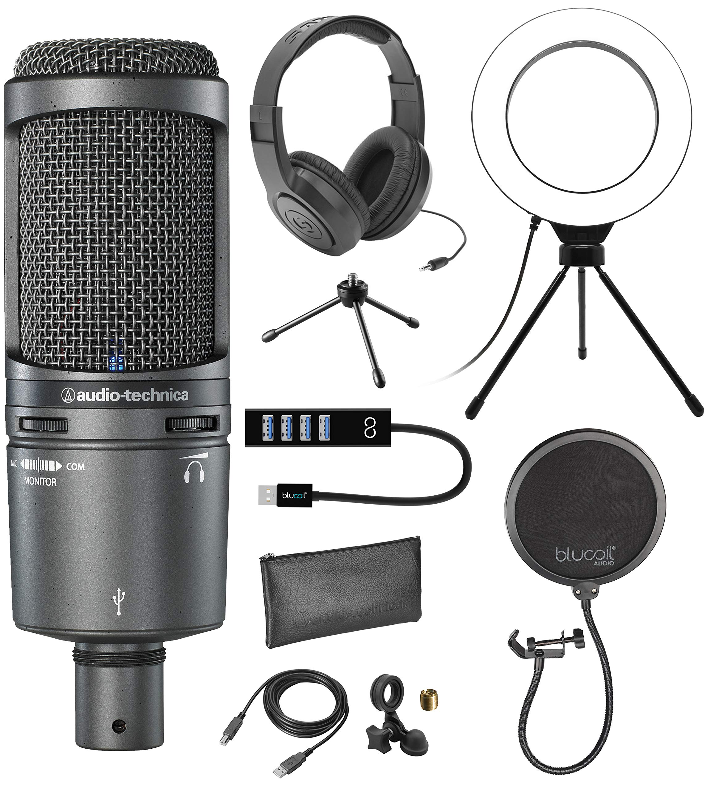 Microfono Audio-Technica AT2020USB+ Cardioid Condenser with