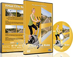 Virtual Cycle Rides - Dunes, Forest And Mountains - For Indoor Cycling, Treadmill and Running Workouts