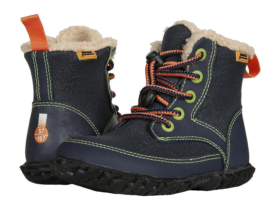 Bogs Kids Skyler (Toddler/Little Kid) (Dark Blue Multi) Boys Shoes