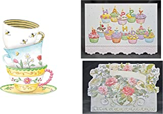 For Arts Sake - Carol Wilson Fine Arts - 72 Birthday Card Assortment - 12 Designs - crgpg14