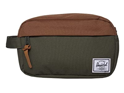 Herschel Supply Co. Chapter Carry On (Dark Olive/Saddle Brown) Bags
