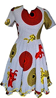 Hybrid Fashionista African Dresses for Women - Work Dress Plus Size African Dress