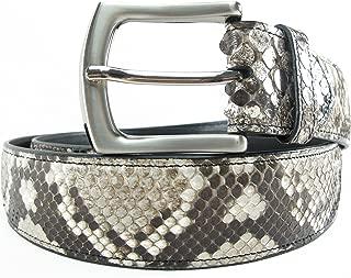 snakeskin belt mens