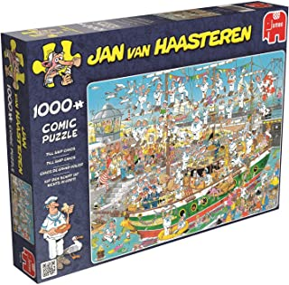 Jumbo - Jan Van Haasteren Tall Ship Chaos Puzzle 1000pc