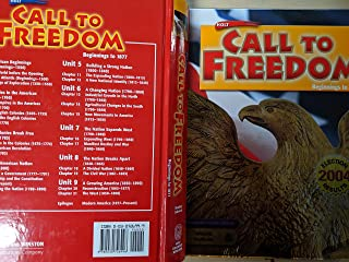 Best call to freedom online textbook Reviews