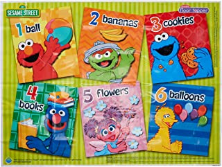 Sesame Street Table Topper Reusable Meal and Play Floor Mat