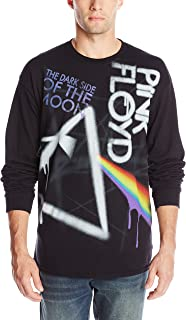 Men's Pink Floyd Dark Side Graffiti Long Sleeve T-Shirt