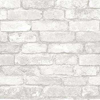 Wall Paper 3d White Brick Decorative Contact Paper Peel Stick Self Adhesive Uk Home Décor Home Garden