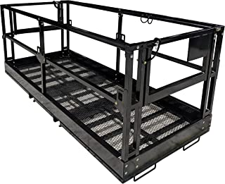 Titan Telehandler Safety Basket, Forklift Attachment, Safety Cage, Work Platform
