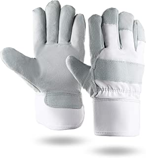 Illinois Glove Company 470 Waterproof 3M Thinsulate Lined Suede Gloves, Gray