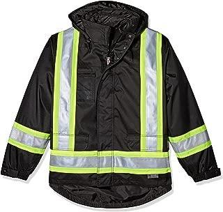 Work King Safety Men's Hi Vis 5-in01 Safety Jacket