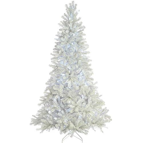newest collection e709c c5a38 Pre Lit White Christmas Tree: Amazon.co.uk