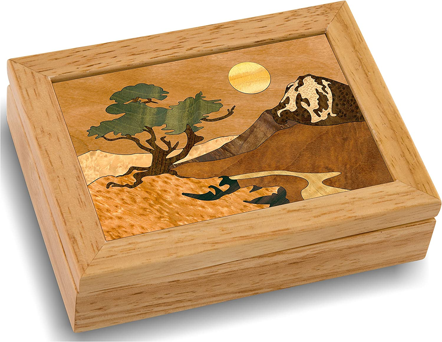 Wood Mountain Box Our shop most popular - Special sale item Handmade Unmatched N USA Quality Unique