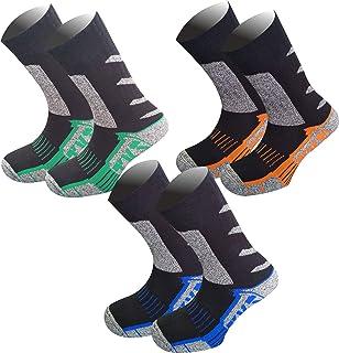 NORDSOKK, Pack 3 Pares Calcetines termicos Media caña, TKS Modelo NORDTREKK. Calcetines para Senderismo y montaña.