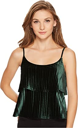Jack by BB Dakota - Azra Pleated Velvet Top