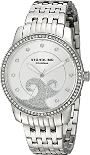 Stuhrling Original Women's 569.01 Coronet Analog Display Quartz Silver Watch