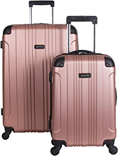 Kenneth Cole Reaction Out of Bounds Wheel Upright Carry-on Luggage, Rose Gold (Gold) - 5709482RG