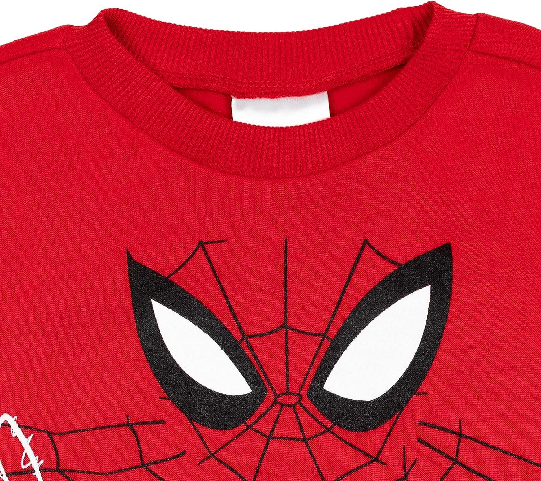 Marvel Spiderverse Spiderman Miles Morales Boys Fleece Pullover Sweatshirt