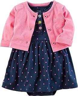 Baby Girls' 2 Piece Dress Set 3 Months Blue