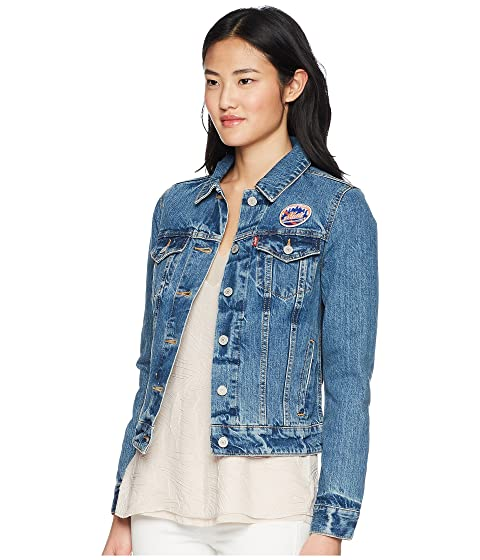 Trucker Jacket Denim Mets Womens NY Levi's® 7cwZHIqAq