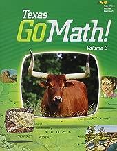 Houghton Mifflin Harcourt Go Math! Texas: Student Edition, Volume 2 Grade 1 2015