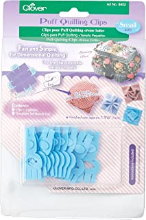 CLOVER Puff Quilting Clips, Small