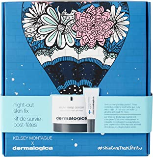 Dermalogica Night-Out Skin Fix Holiday Kit - Set Contains: Face Lotion and Eye Cream - Transform Skin Overnight To Minimiz...