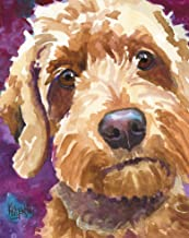 """Goldendoodle Art Print 