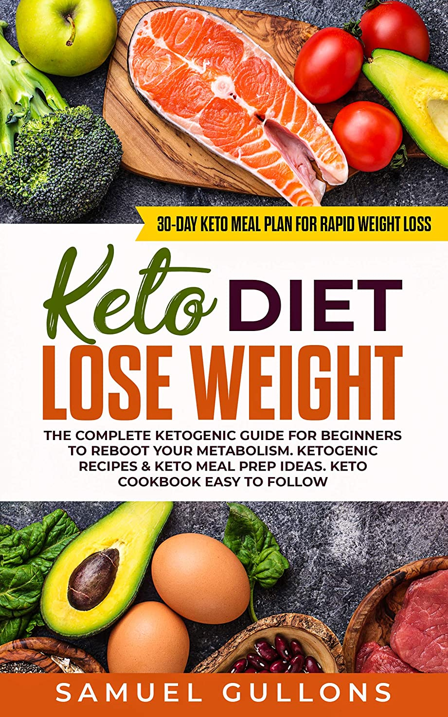 Keto Diet Lose Weight for beginners: The Keto Diet: 30-Day Keto Meal Plan for Rapid Weight Loss. The Complete Ketogenic guide for beginners to reboot your metabolism. (English Edition)