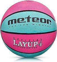 meteor® Kinder Basketball Layup Größe #4 Jugend Basketball ideal auf die Kinder-hände 5-10 Jahre idealer Mini Basketball f...