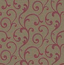 Fujikawa Non Woven Wallpaper Red 53x1000cm