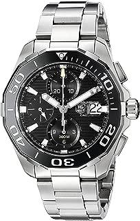 TAG Heuer Men's CAY211A.BA0927 Aquaracr Analog Display Swiss Automatic Silver Watch