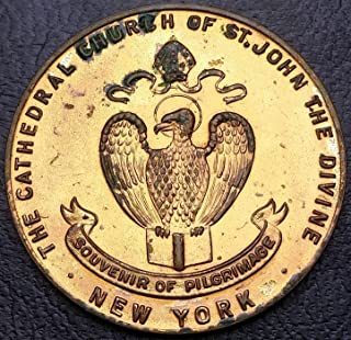 cathedral church of st john the divine coin