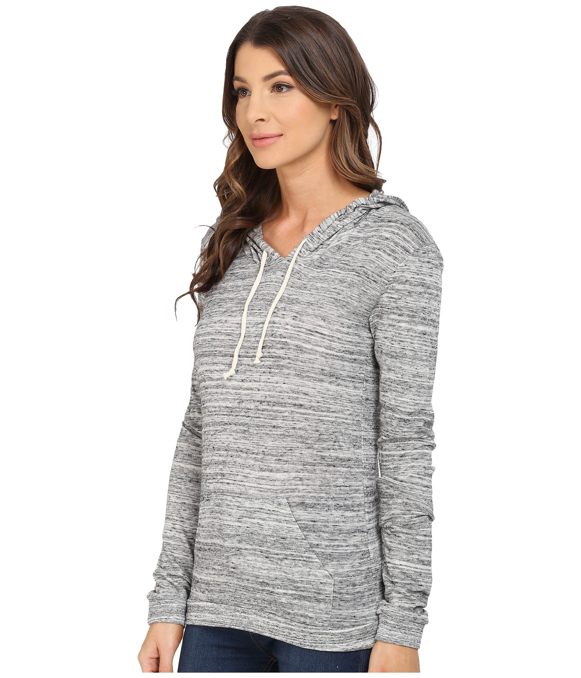 Urban Hoodie Alternative Classic Pullover Jersey Grey Eco CwXwnqfOr