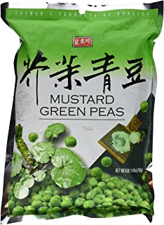 Taiwan Roasted Wasabi Hot Green Peas (30 Packets) - 8.46 Oz (240 g) - No Starch, No Wheat Flour
