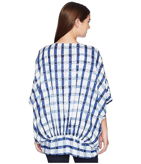Colección Dark XIIX Gingham Chambray Acuarela Kimono r6TrIn4q