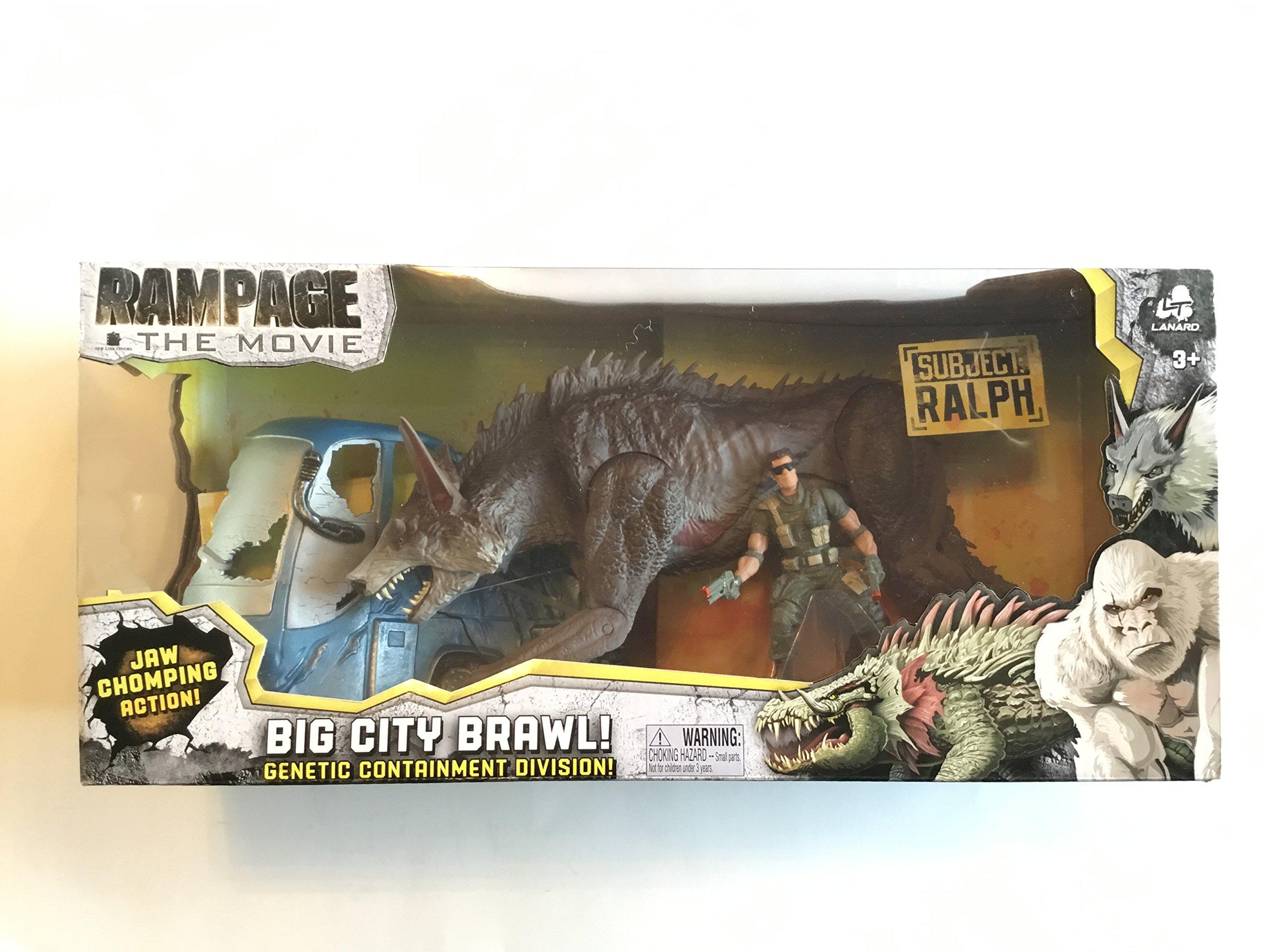 Rampage New The Movie Big City Brawl Ralph Set Amazon Co Uk Toys