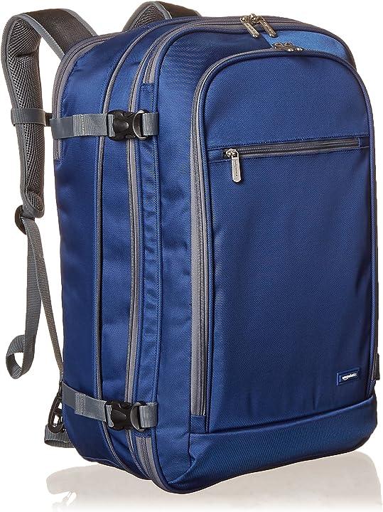 zaino da viaggio/bagaglio a mano- 50l amazon basics  b06x1fdhjr