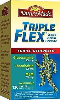 Nature Made TripleFlex Triple Strength Caplet (Glucosamine Chondroitin MSM) Value Size 120 ct