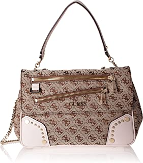 Guess FRANKIE CONVERTIBLE CROSSBODY, Brown
