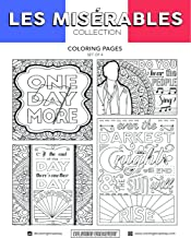 Coloring Broadway Les Miserables Card stock Coloring Pages (8 1/2