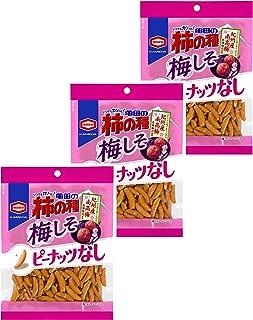 亀田製菓 亀田の柿の種梅しそ100% 105g×3袋