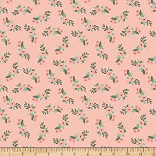 Riley Blake Designs Bliss Floral Blush Fabric Fabric by the Yard