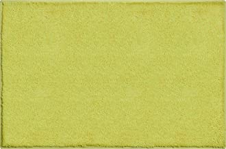 Grund Bath Rug, Ultra Soft and Absorbent, Cotton, Anti Slip, Manhattan, 60x90 cm, Green