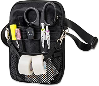 First Lifesaver 4-in-1 Convertible Nurse Fanny Pack, Black