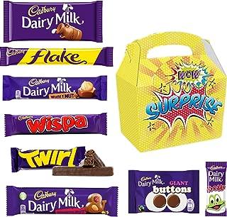 Dairy Milk Chocolate Selection Box - Cadbury Chocolate Selection Box in a Surprise Candy Gift Box.