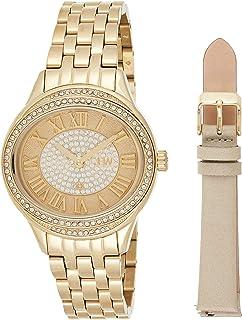 JBW Luxury Women's Plaza Diamond Two Interchangeable Band Watch - J6366-SetB