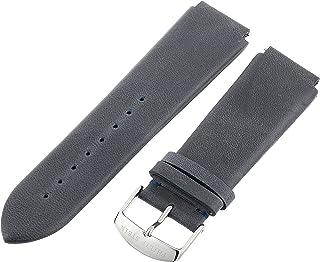Philip Stein 3-CVOBL 22mm Leather Calfskin Blue Watch Strap